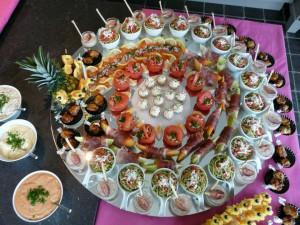 buffet vlees vis